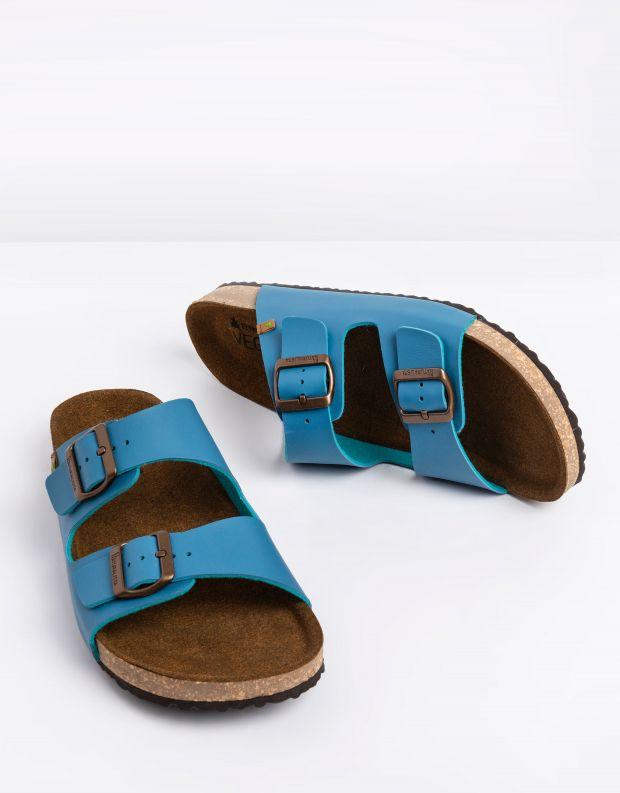 נעלי גברים - El Naturalista - כפכפי WARAJI VEGAN - ג'ינס