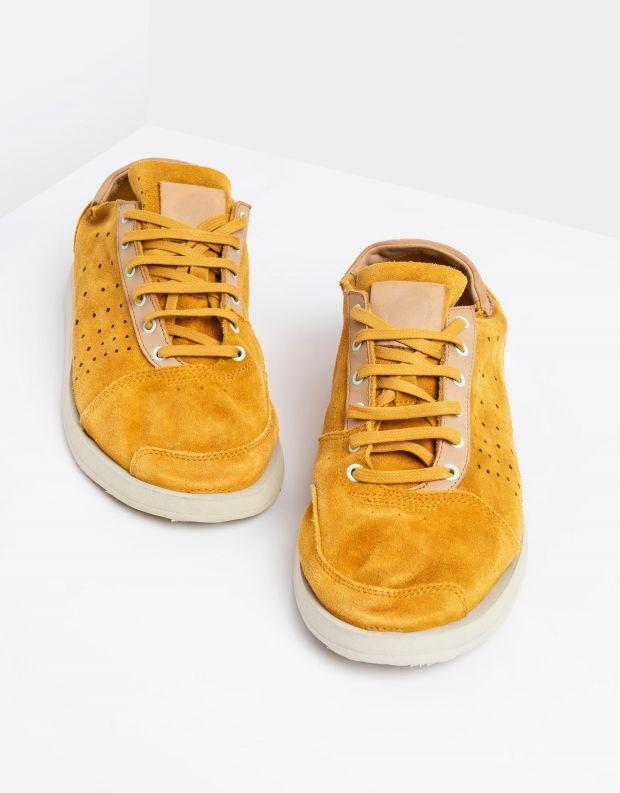 נעלי גברים - Satorisan - סניקרס TATE SUEDE - צהוב