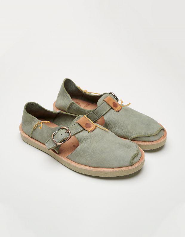 נעלי גברים - Satorisan - נעלי עור BENIRRAS - חאקי