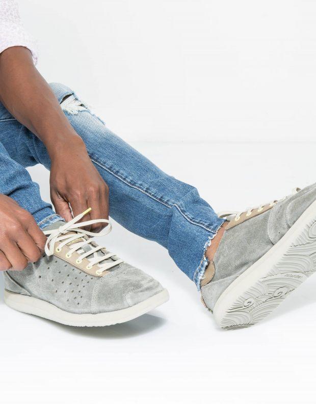 נעלי גברים - Satorisan - סניקרס TATE SUEDE - אפור