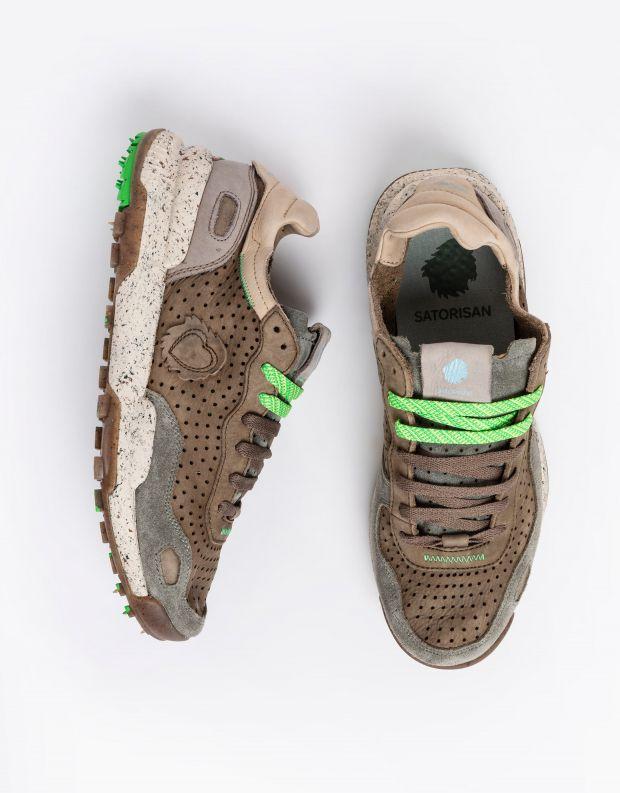 נעלי גברים - Satorisan - סניקרס מחוררות CHACRONA - חום