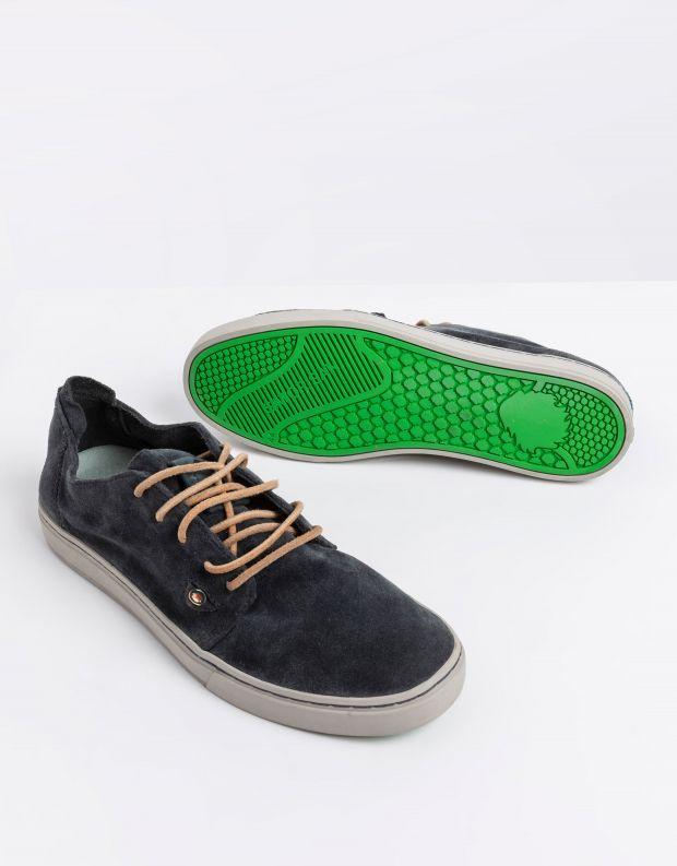 נעלי גברים - Satorisan - סניקרס זמש HEISEI RUSTIK - שחור