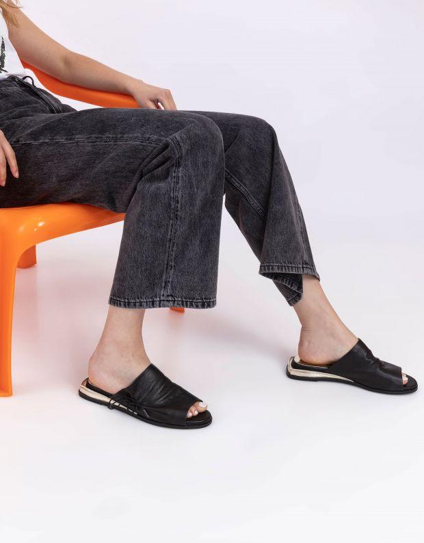 נעלי נשים - Yuko Imanishi - כפכפים שטוחים MIRI - שחור