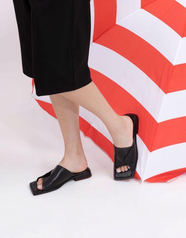 נעלי נשים - Yuko Imanishi - כפכפים שטוחים LAN - שחור