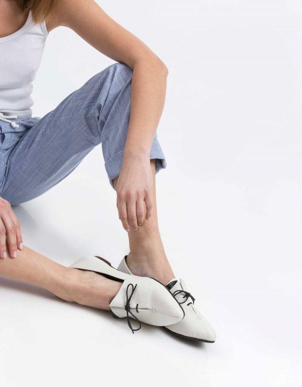 נעלי נשים - Yuko Imanishi - נעלי סירה RINA - לבן