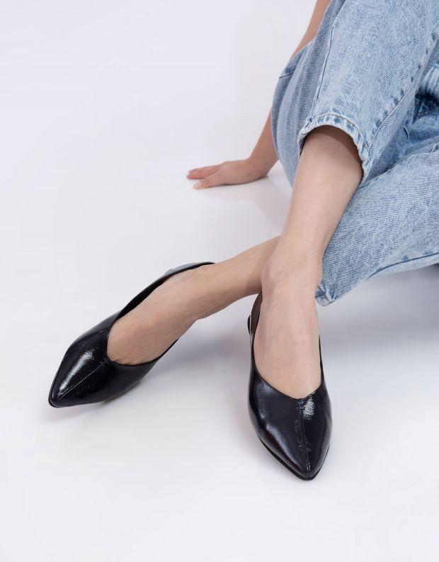 נעלי נשים - Yuko Imanishi - נעלי סירה DEAN - כחול כהה