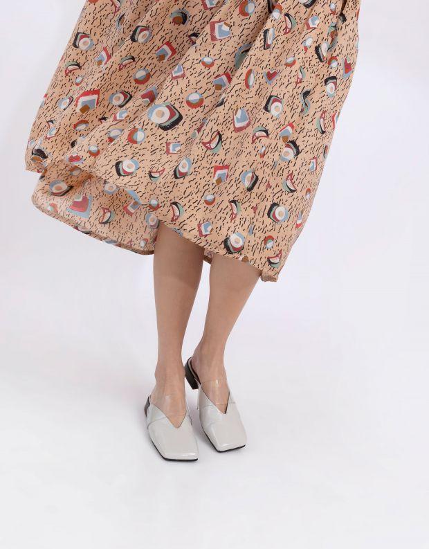 נעלי נשים - Yuko Imanishi - כפכפים שטוחים LIN - לבן