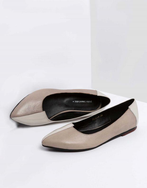 נעלי נשים - Yuko Imanishi - נעלי סירה YOSHI - אפור