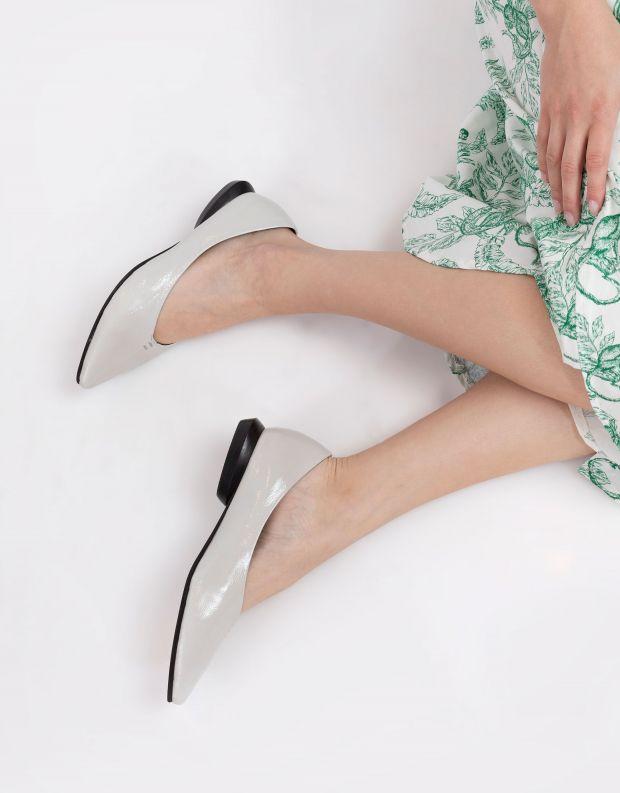 נעלי נשים - Yuko Imanishi - נעלי סירה DEAN - לבן