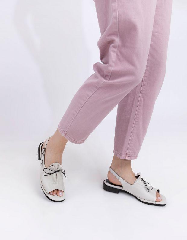 נעלי נשים - Yuko Imanishi - סנדלי AOI - לבן