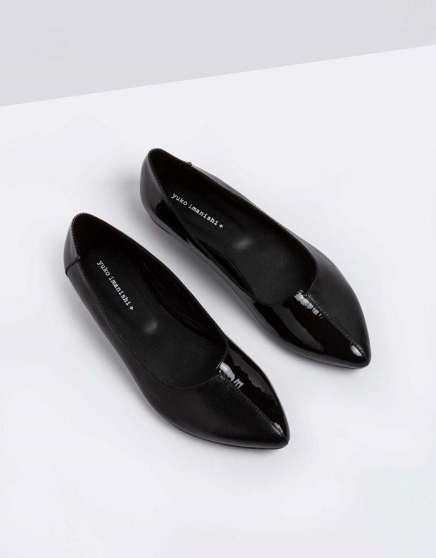 נעלי נשים - Yuko Imanishi - נעלי סירה YOSHI - שחור
