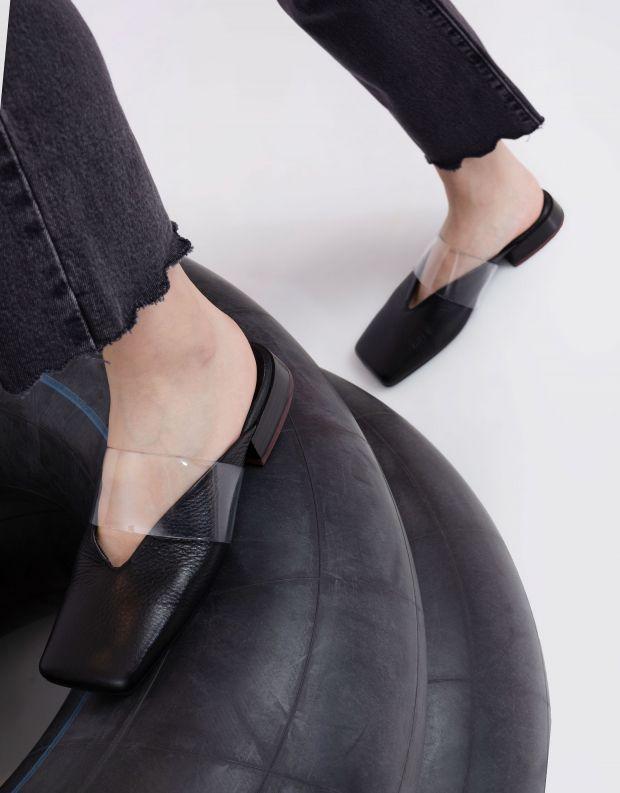 נעלי נשים - Yuko Imanishi - כפכפים שטוחים LIN - שחור