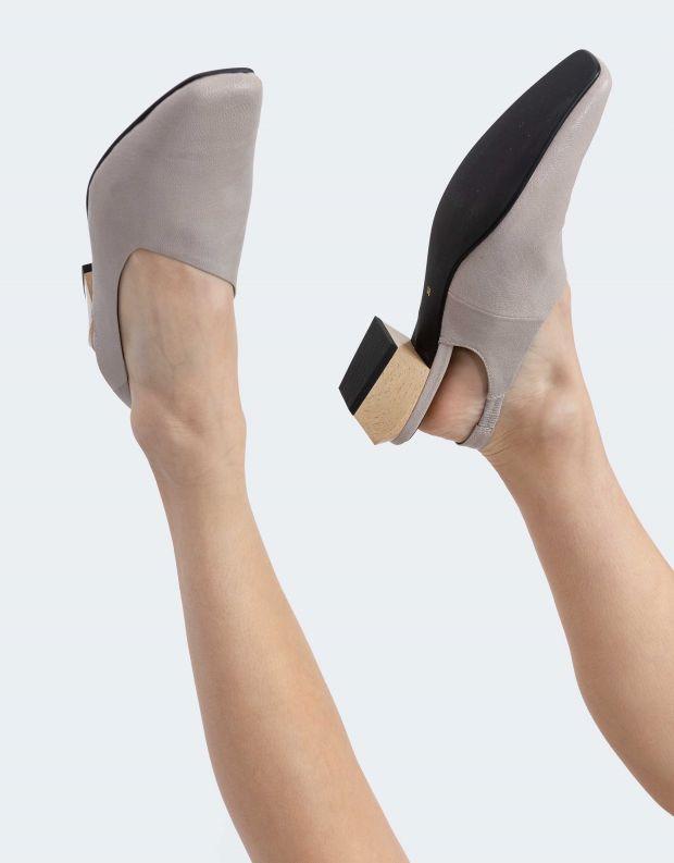 נעלי נשים - Yuko Imanishi - נעלי סירה KAREN - אפור