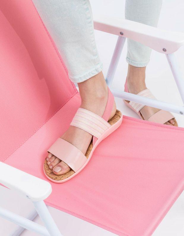 נעלי נשים - NR Rapisardi - סנדלים שטוחים CRIU - ורוד