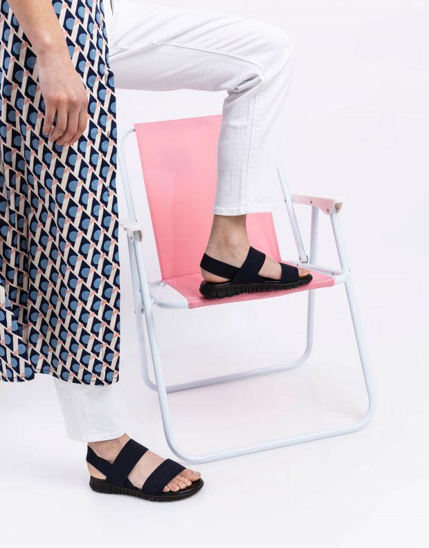 נעלי נשים - NR Rapisardi - סנדלי LAUREN - כחול