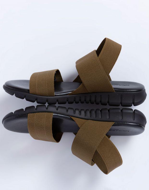 נעלי נשים - NR Rapisardi - סנדלי LAUREN - ירוק