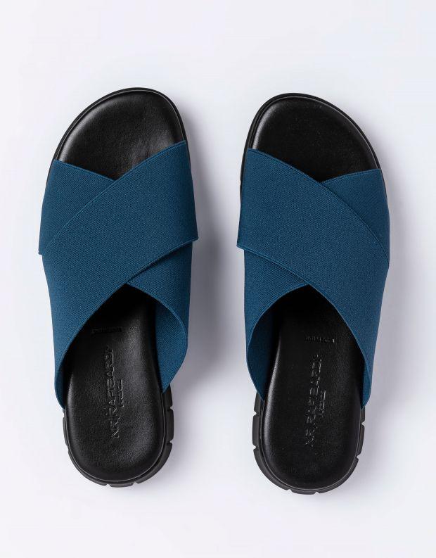 נעלי נשים - NR Rapisardi - כפכפי LOIRA - כחול