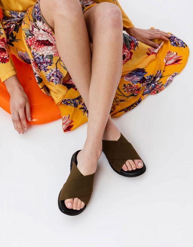 נעלי נשים - NR Rapisardi - כפכפי LOIRA - ירוק