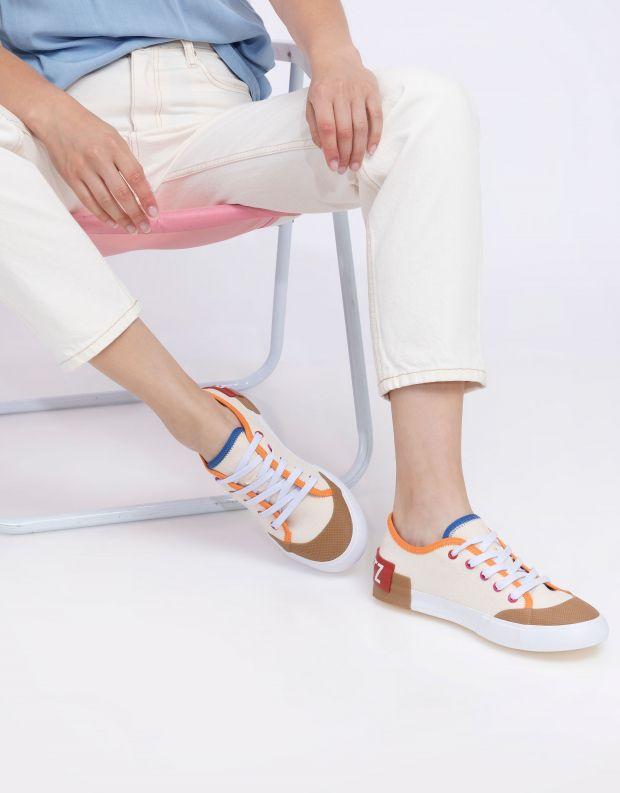 נעלי נשים - Schutz - סניקרס בד BINA - לבן