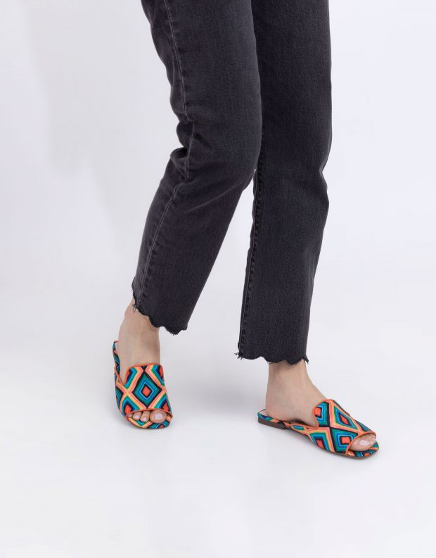 נעלי נשים - Schutz - כפכפים צבעוניים NISSA - צבעוני