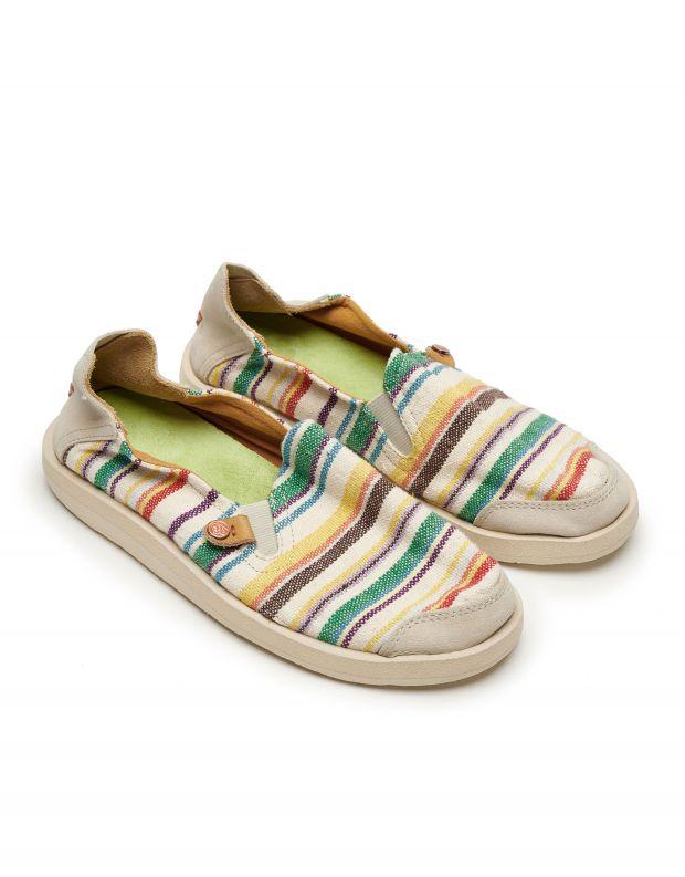 נעלי נשים - Satorisan - נעלי KUNG FU פסים - צבעוני