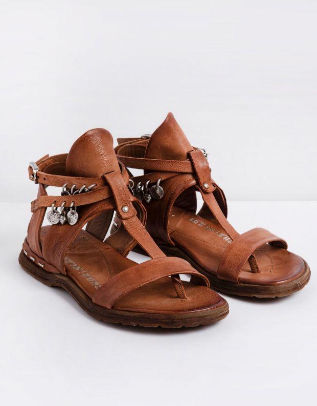נעלי נשים - A.S. 98 - סנדלים עם חרוזים MARE - חום