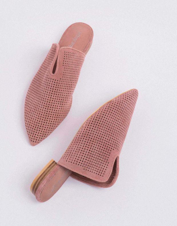 נעלי נשים - Jeffrey Campbell - כפכפי מיולז CLEOS - ורוד