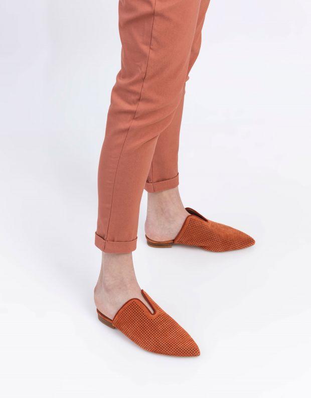 נעלי נשים - Jeffrey Campbell - כפכפי מיולז CLEOS - חמרה