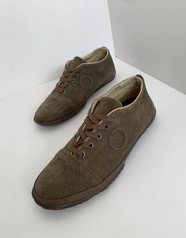 נעלי גברים - Aro - סניקרס זמש WILLY - חום