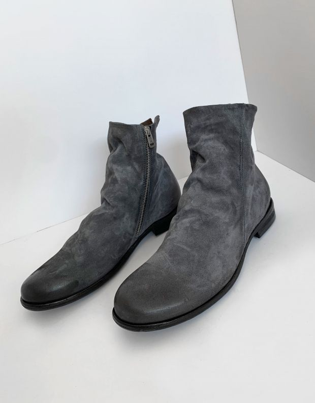 נעלי גברים - A.S. 98 - מגפי זמש TRY - אפור