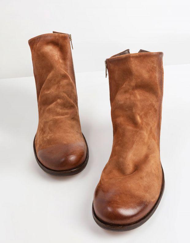 נעלי גברים - A.S. 98 - מגפי זמש TRY - קאמל