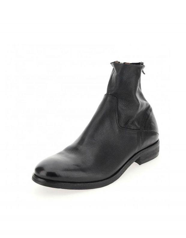 נעלי גברים - A.S. 98 - מגפי MASON עם רוכסן פנימי - שחור