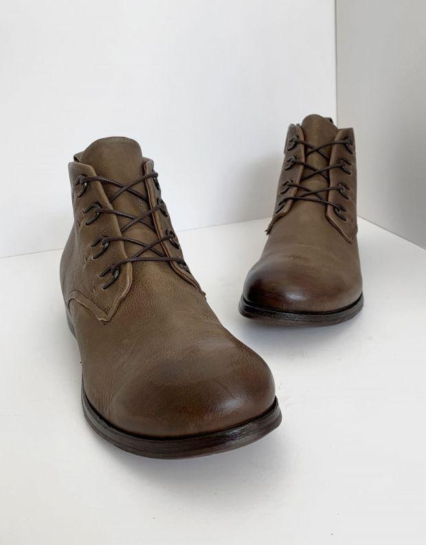 נעלי גברים - A.S. 98 - נעליים CLASH לולאות מתכת - חום בהיר