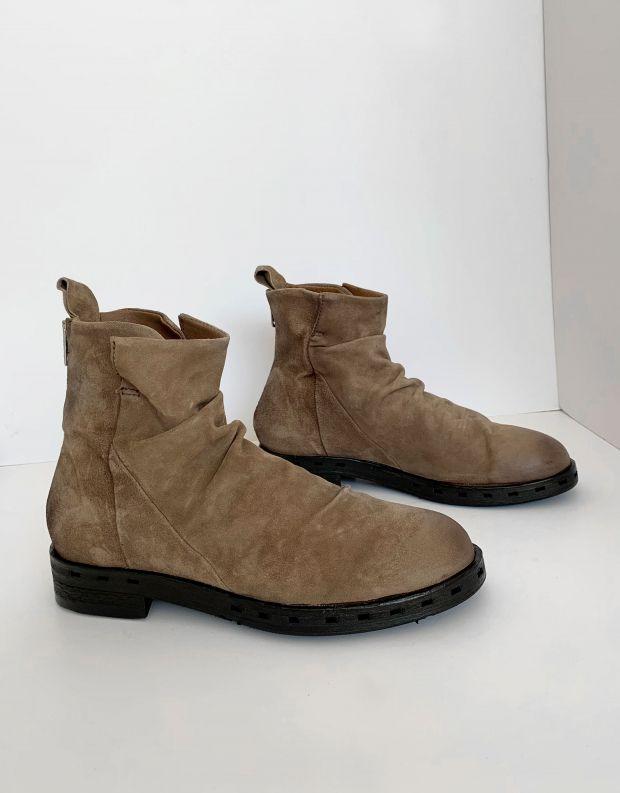 נעלי גברים - A.S. 98 - מגפונים עם קיפולים IRA - חום בהיר