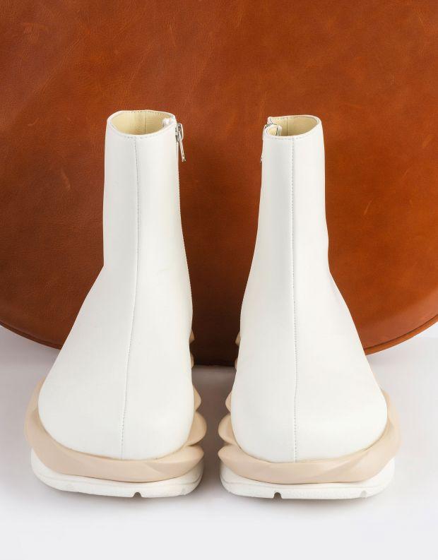 נעלי נשים - 4CCCCEES - מגפונים MELLOW - לבן