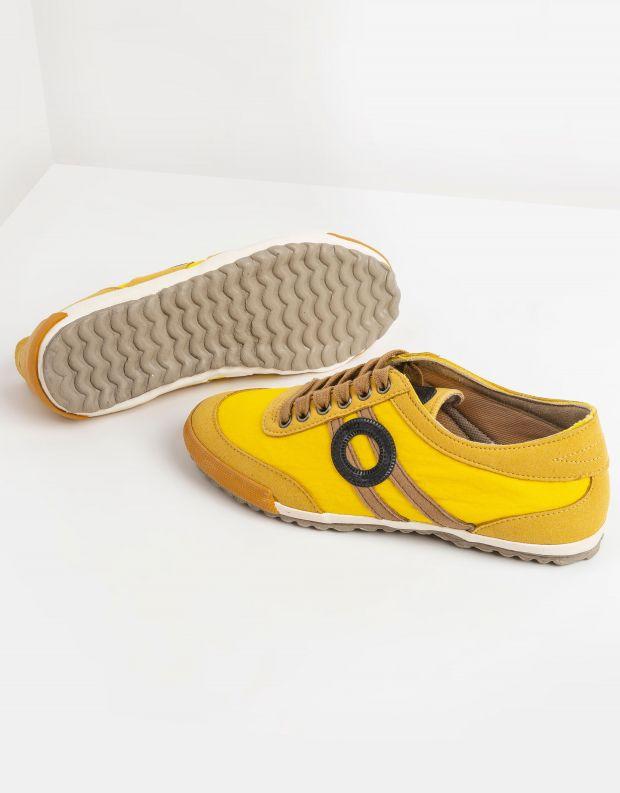 נעלי גברים - Aro - סניקרס IDO B VEGAN - צהוב