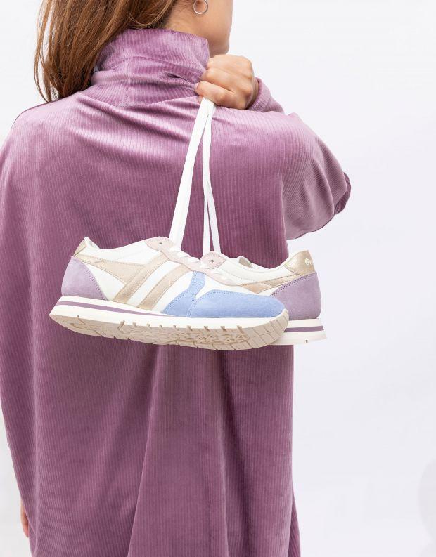 נעלי נשים - Gola - סניקרס DAYTONA QUADRANT - לבן   טורקיז