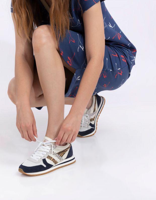 נעלי נשים - Gola - סניקרס DAYTONA SAFARI - לבן   כחול