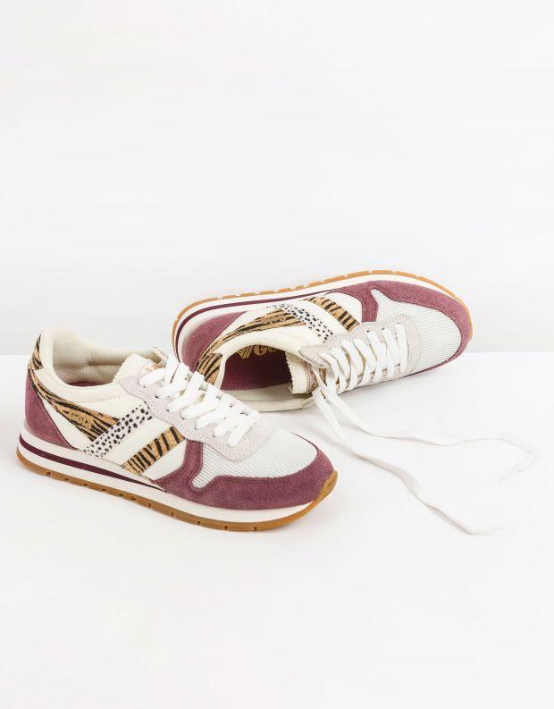 נעלי נשים - Gola - סניקרס DAYTONA SAFARI - לבן   סגול