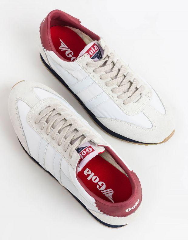 נעלי גברים - Gola - סניקרס BOSTON 78 בהיר - לבן   אדום