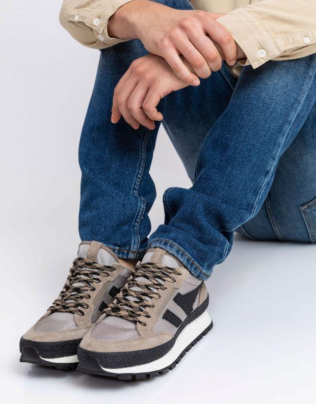 נעלי גברים - Gola - סניקרס ALPINE LOW - חאקי