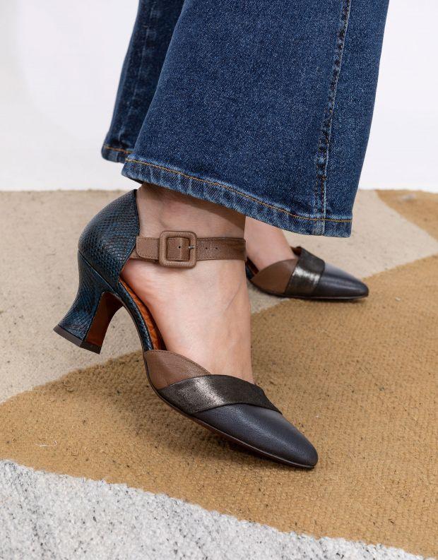נעלי נשים - Chie Mihara - נעלי עקב VOTULA - אפור   כחול