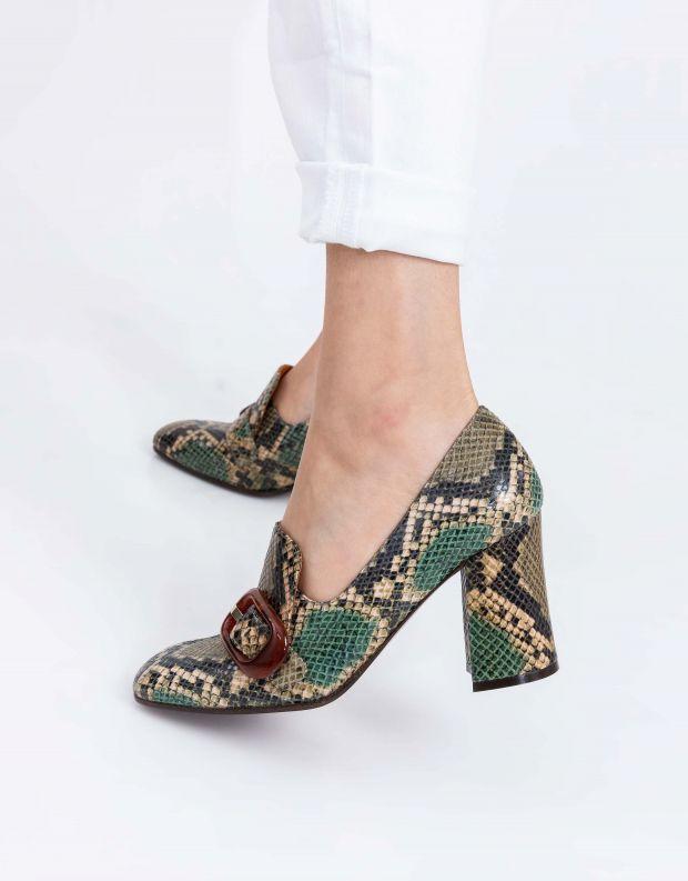 נעלי נשים - Chie Mihara - נעלי עקב RAIDIS - נחש