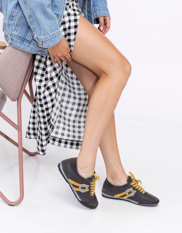 נעלי נשים - Aro - סניקרס IDO - אפור   כתום