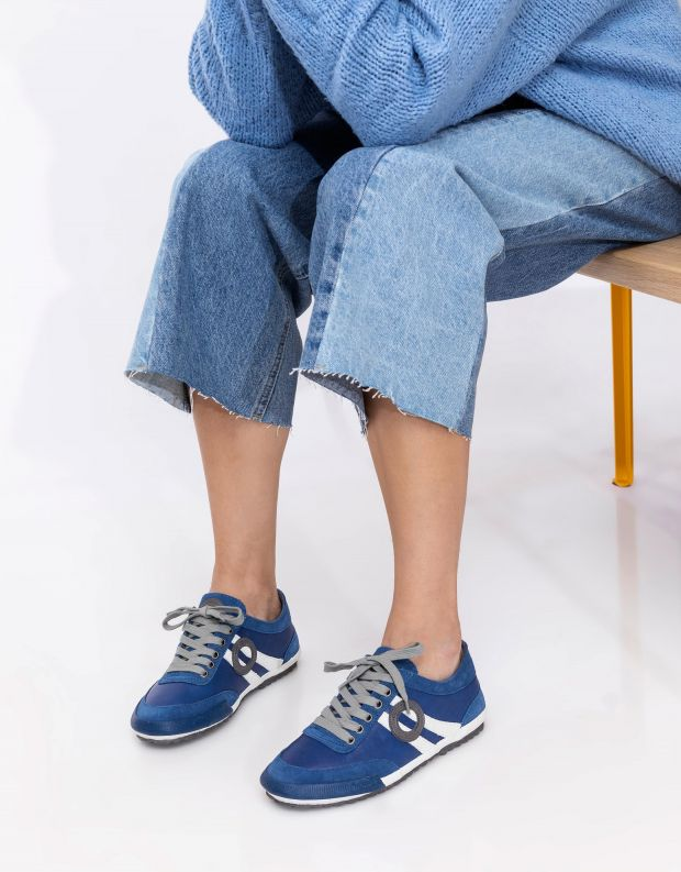 נעלי נשים - Aro - סניקרס IDO - כחול