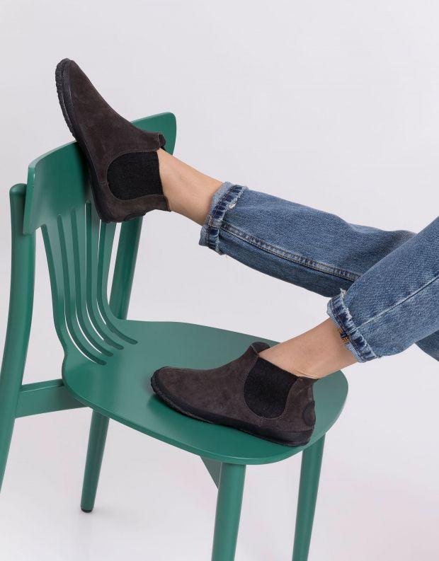 נעלי נשים - Aro - מגפוני צ'לסי WILLY - אפור
