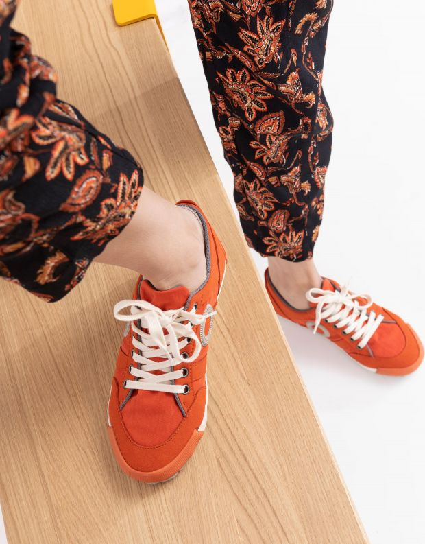 נעלי נשים - Aro - סניקרס IDO B VEGAN - כתום