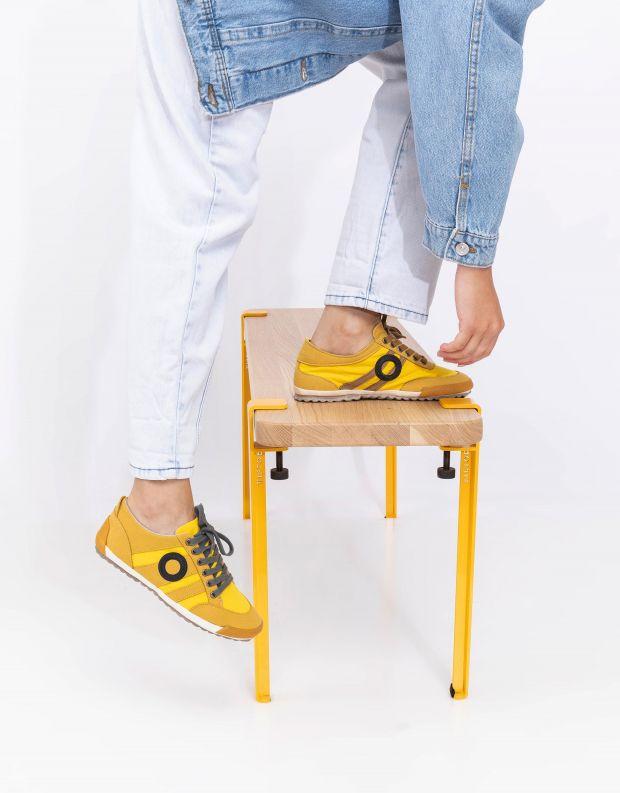 נעלי נשים - Aro - סניקרס IDO B VEGAN - צהוב