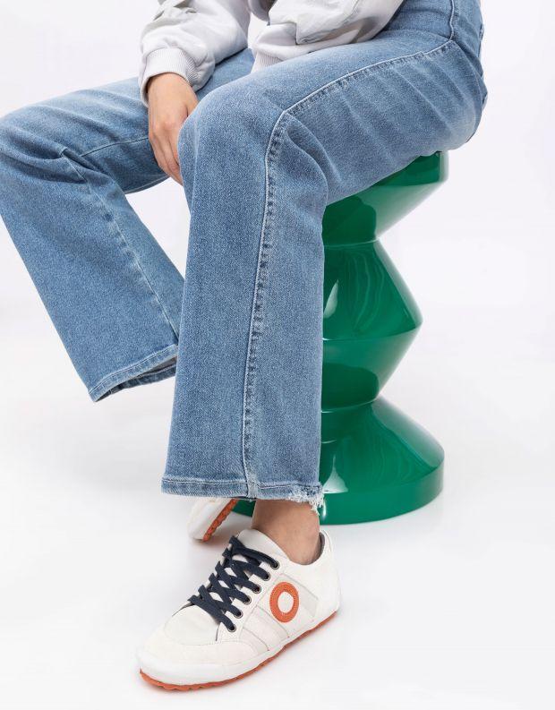 נעלי נשים - Aro - סניקרס IDO B - לבן   כחול