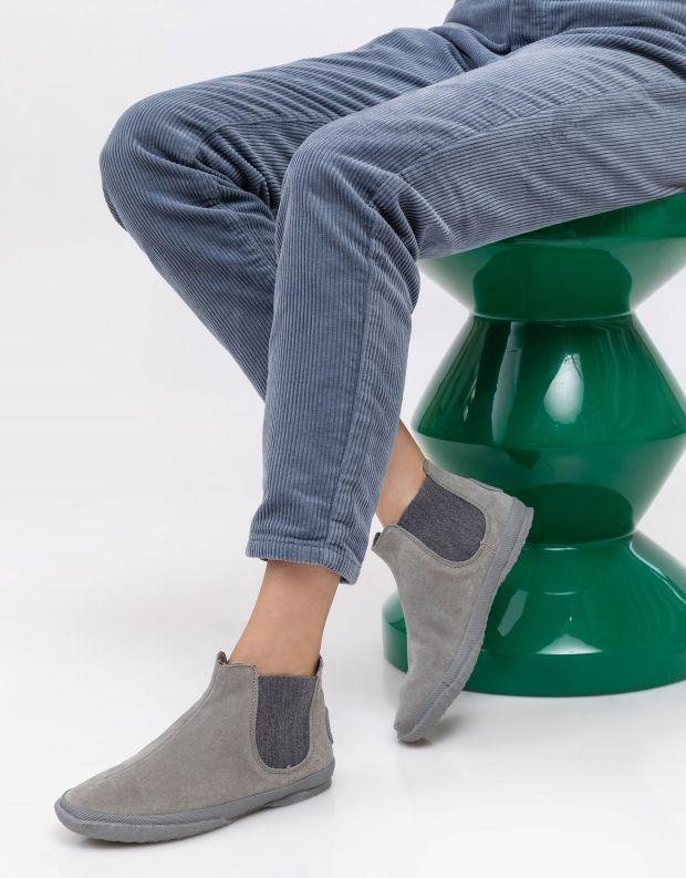 נעלי נשים - Aro - מגפוני צ'לסי WILLY - אפור בהיר
